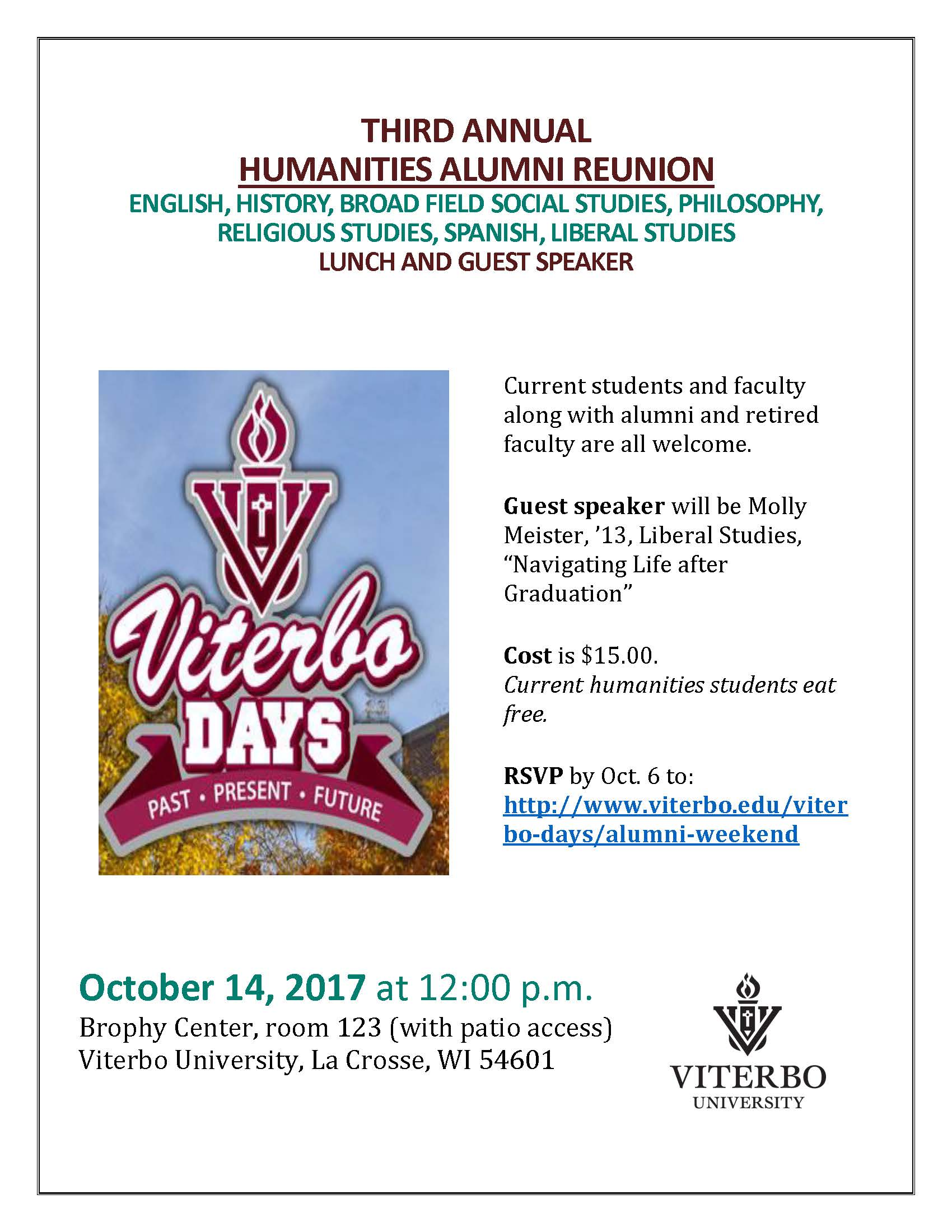 http://www.viterbo.edu/viterbo-days/alumni-weekend