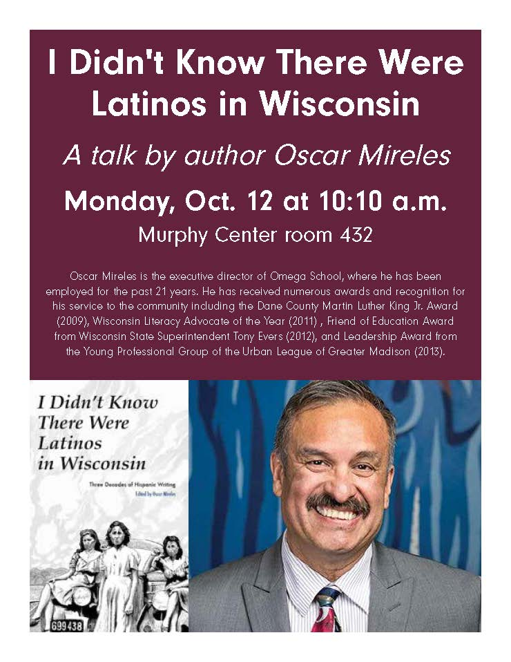 Latinos in Wisconsin flyer