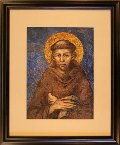Francis Portrait, Small by Cimabue