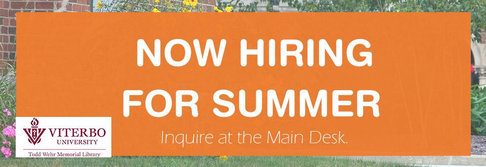 summer hiring graphic