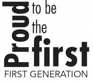 Proud to be the first