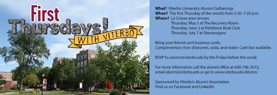 First Thursdays with Viterbo