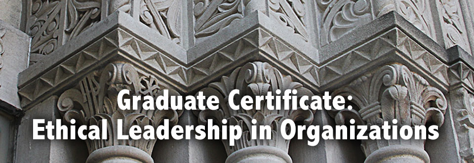 Ethical Leadership in Organizations