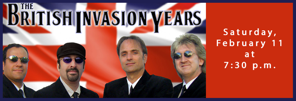 The British Invasion Years