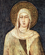 Clare Portrait Small by Simone Martini